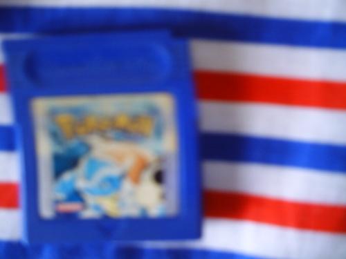 La seule cartouche bleue de la GameBoy. Culte.